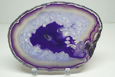 Purple Agate Form on Stand
