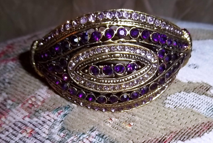 Free Energy Soul Purpose Purple Bangle