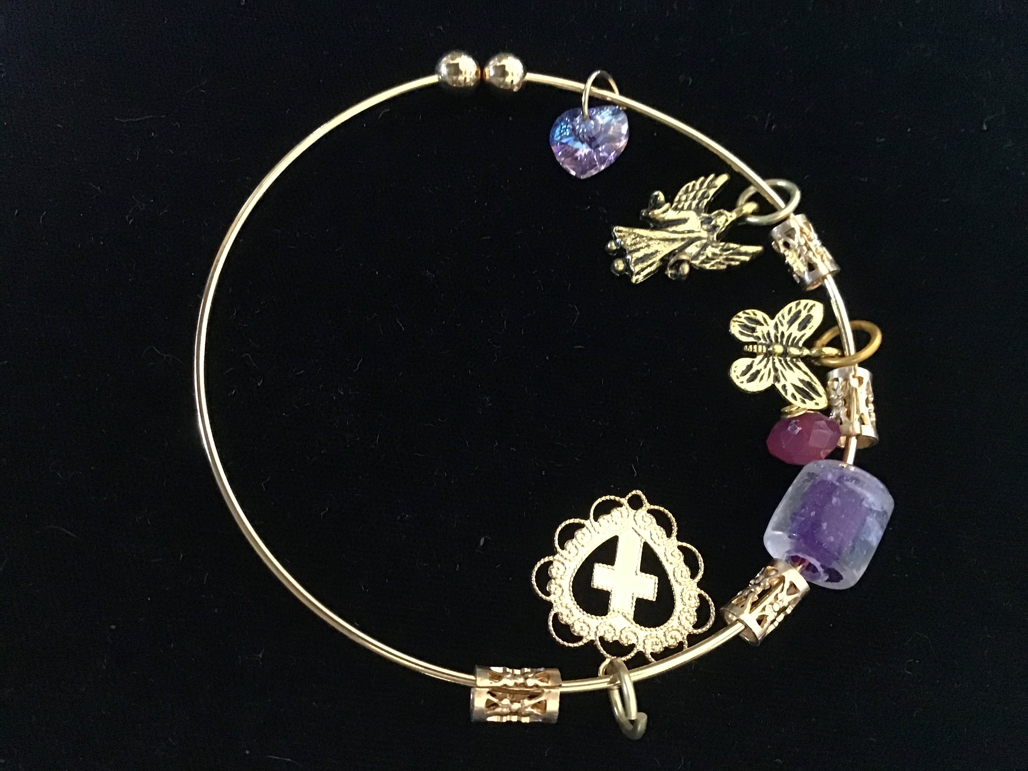 Angel Fields Treasure Bangle