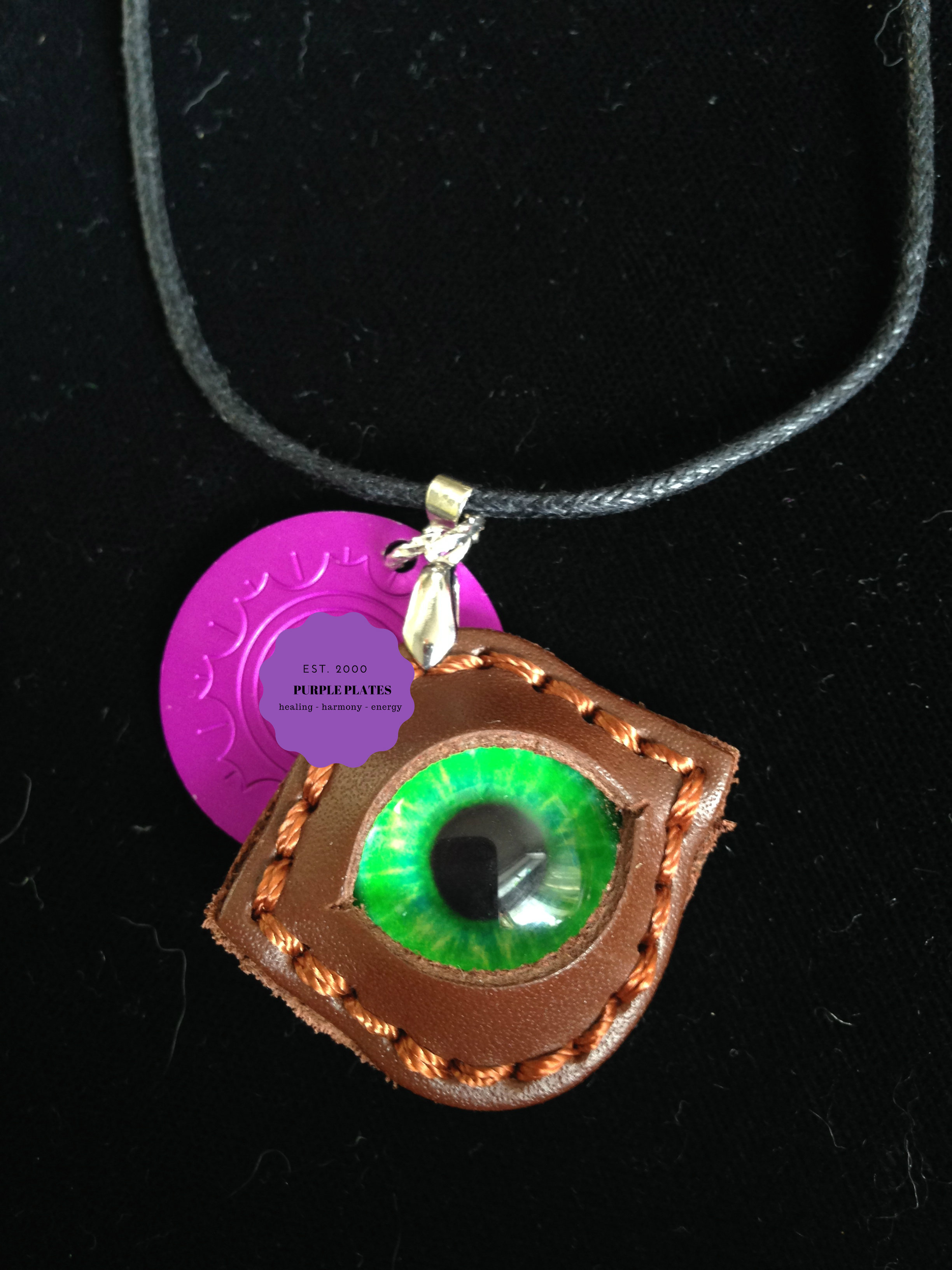 Dragon's Eye with Purple Energy Disk
