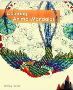Coloring Book: Animal Mandalas