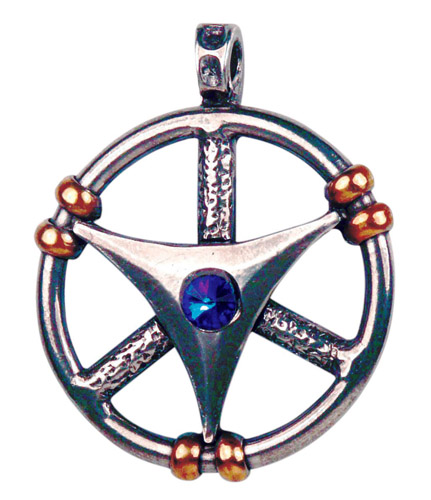 Only-One CELESTE WHEEL Pendant Necklace