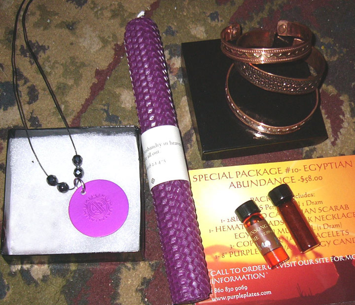 Egyptian Abundance Energy Kit