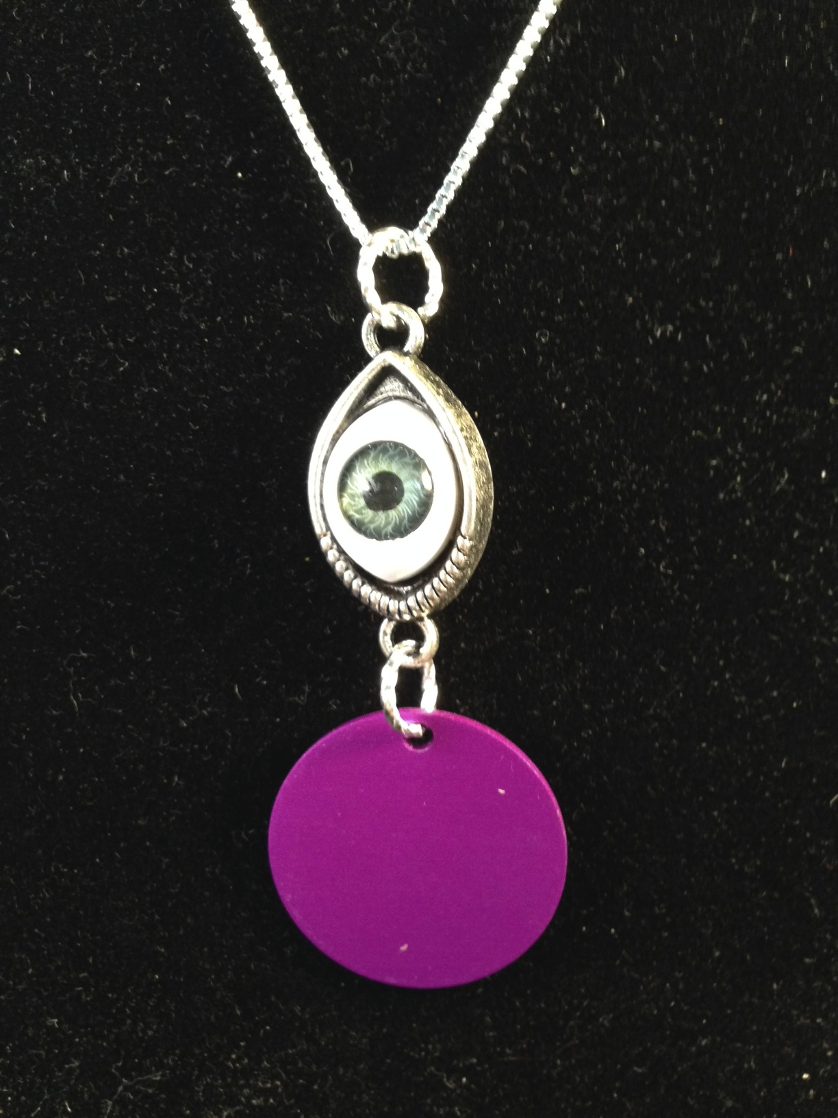 Mystical Eye with Purple Disk