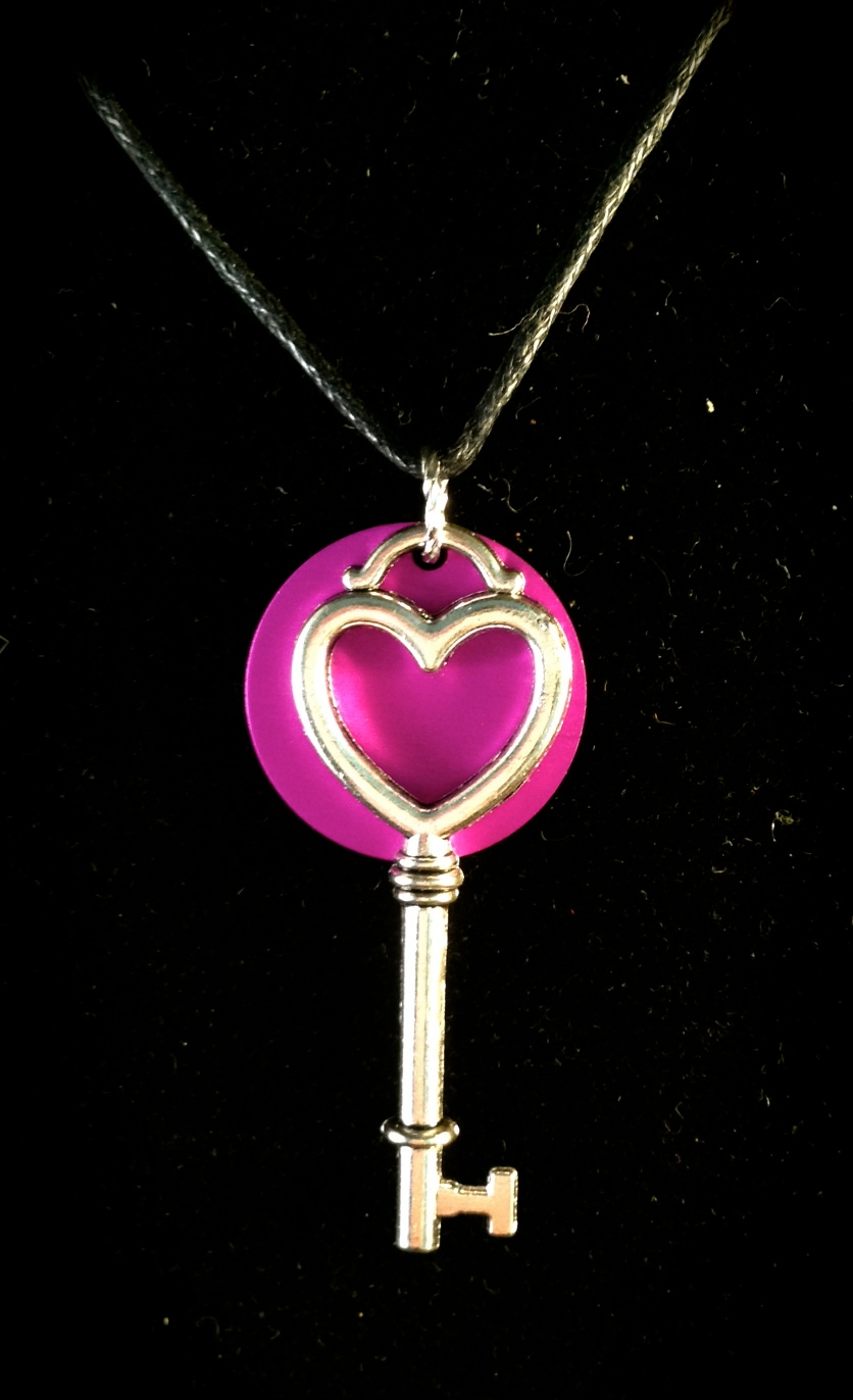 Heart Key with Purple Energy Disk
