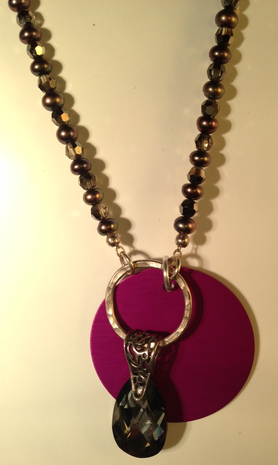 Only One Hematite and Pearls