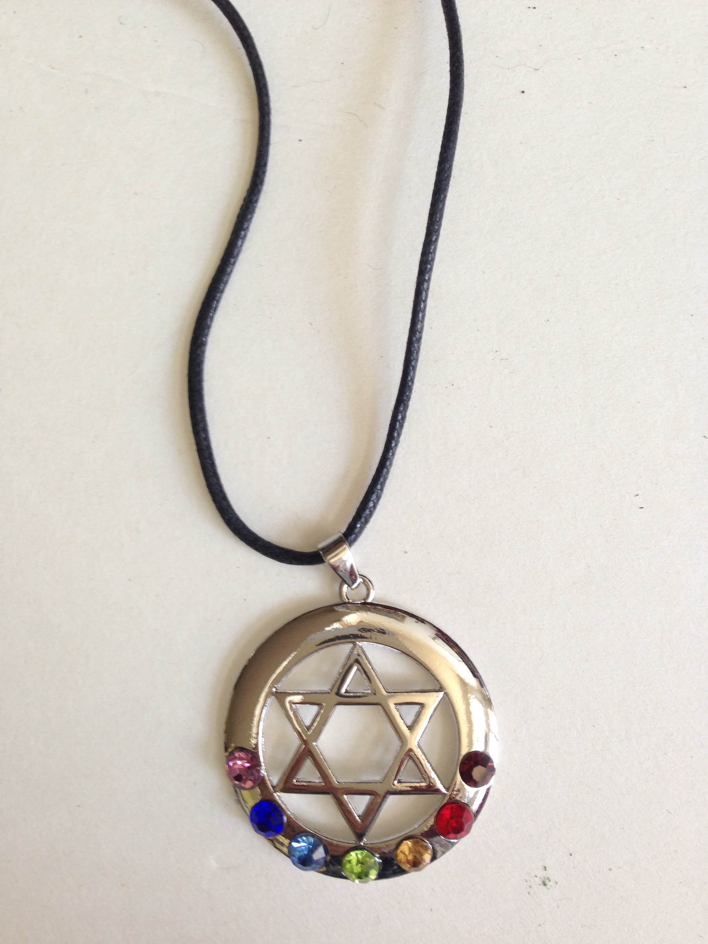 Pentacle with Energy Disk