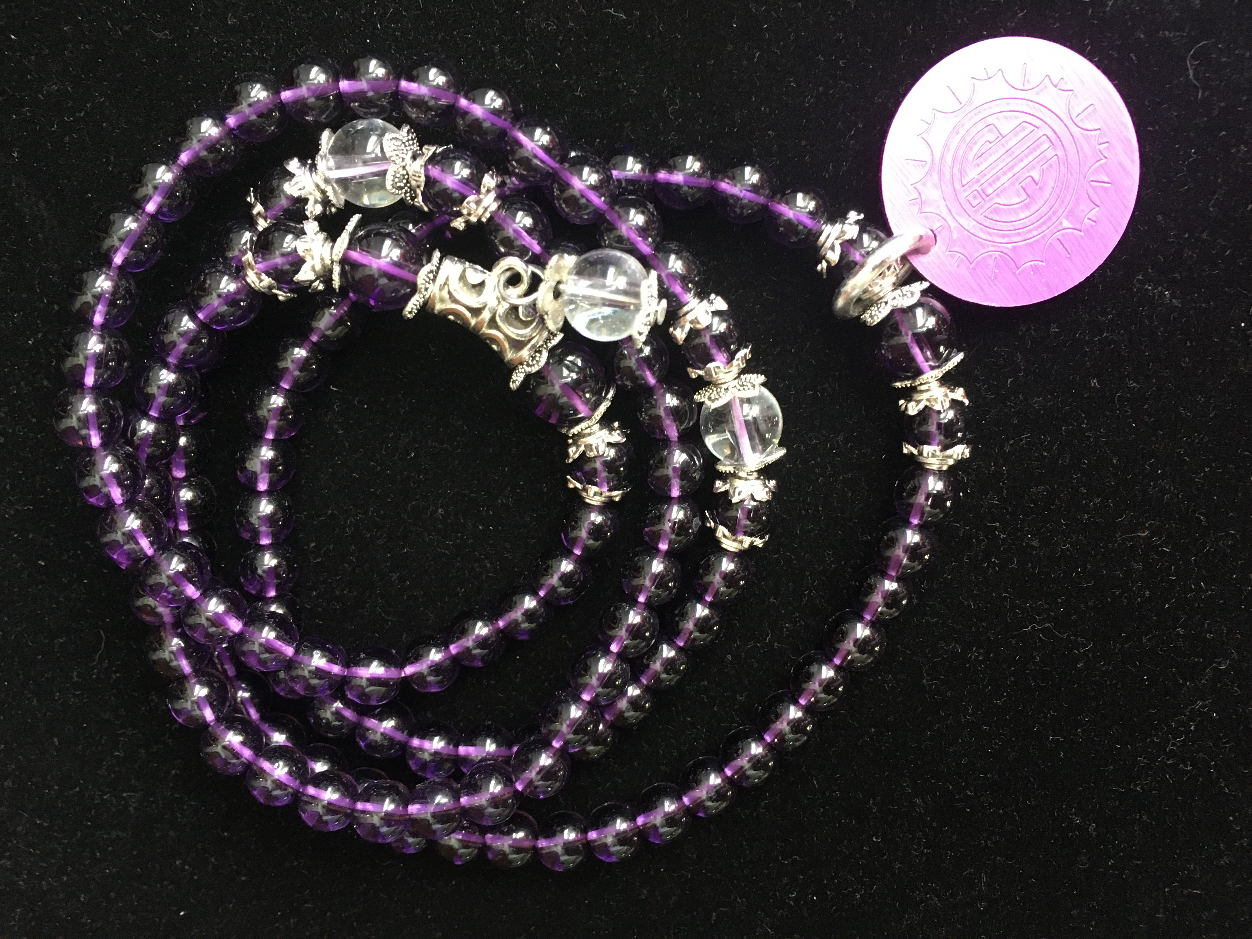 Versatile Purple Beads and Energy Disk