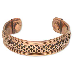 Copper copper-shade bracelet