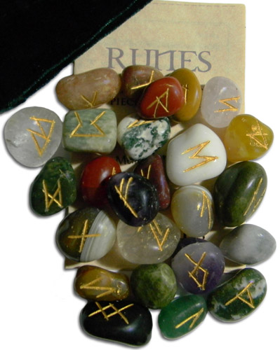SALE-RUNE SET: Multi Stones
