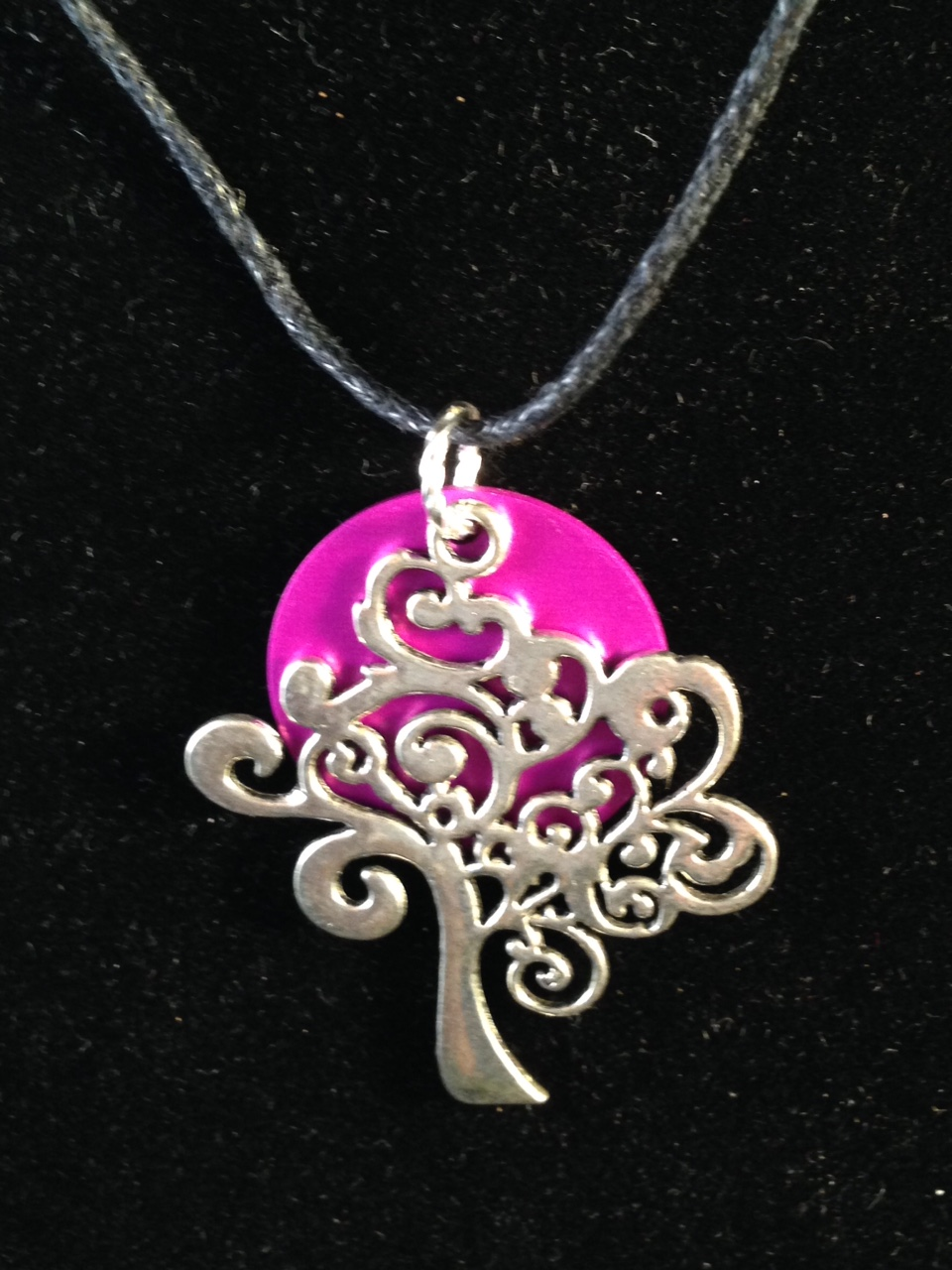 Silver Tree of Life with Tesla Energy Disk