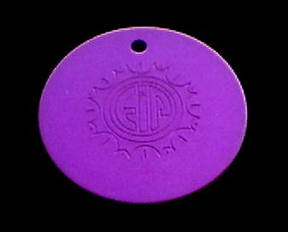 "1"" Positive Energy Disk"