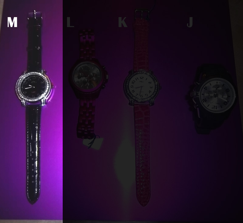 ENERGY WATCHES - M - Black Leather