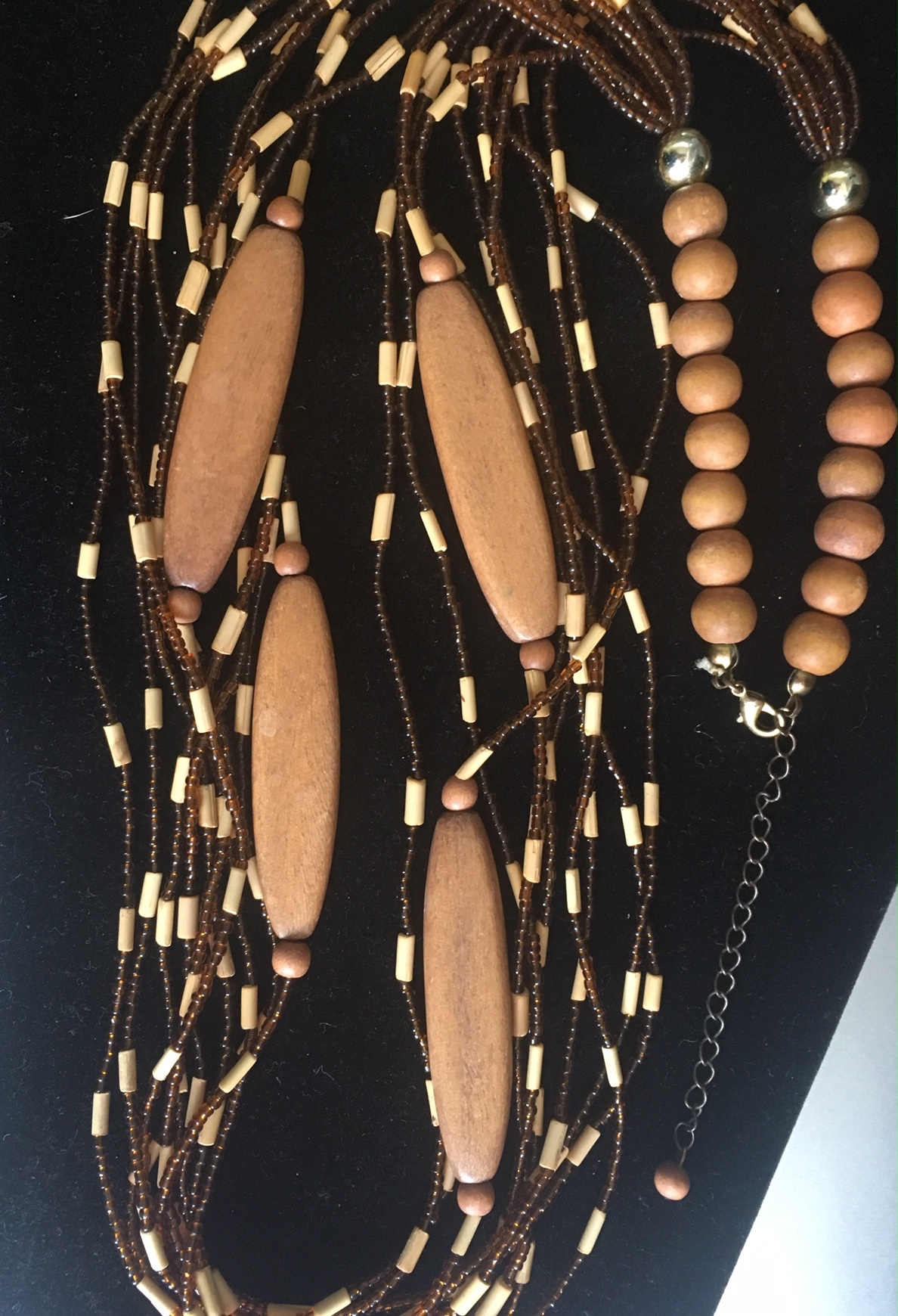 "15"" Ten Strand boho Necklace"
