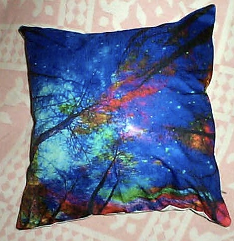 Positive Energy Pillow-Magic Forest