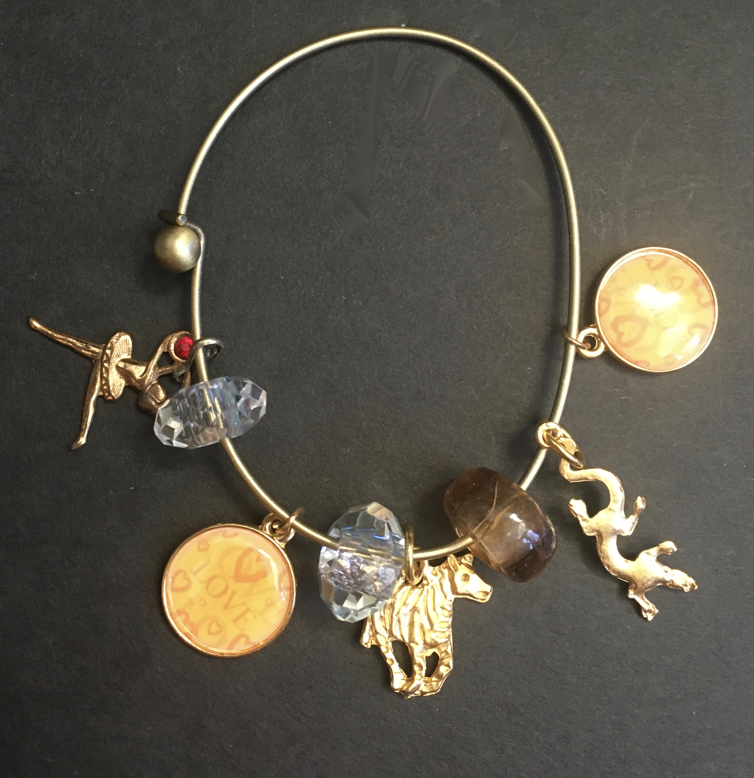 Love Animals Treasure Bangle