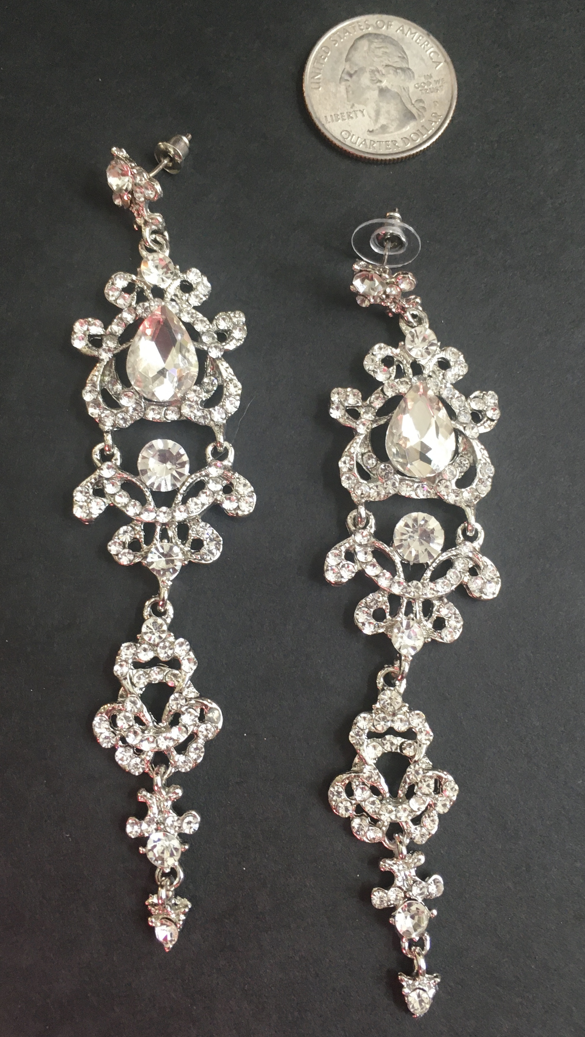 Long Diamond-esque Dangles