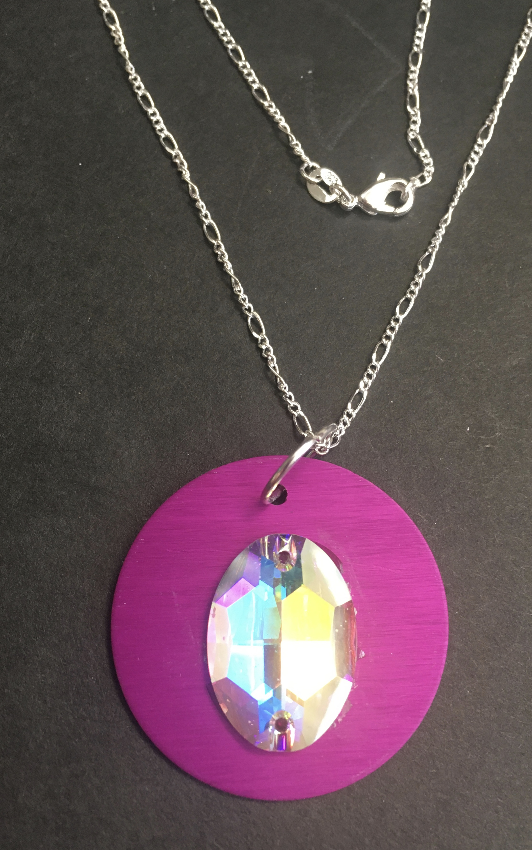 Large Energy Disk with Colorful Bead on Sterling Chain