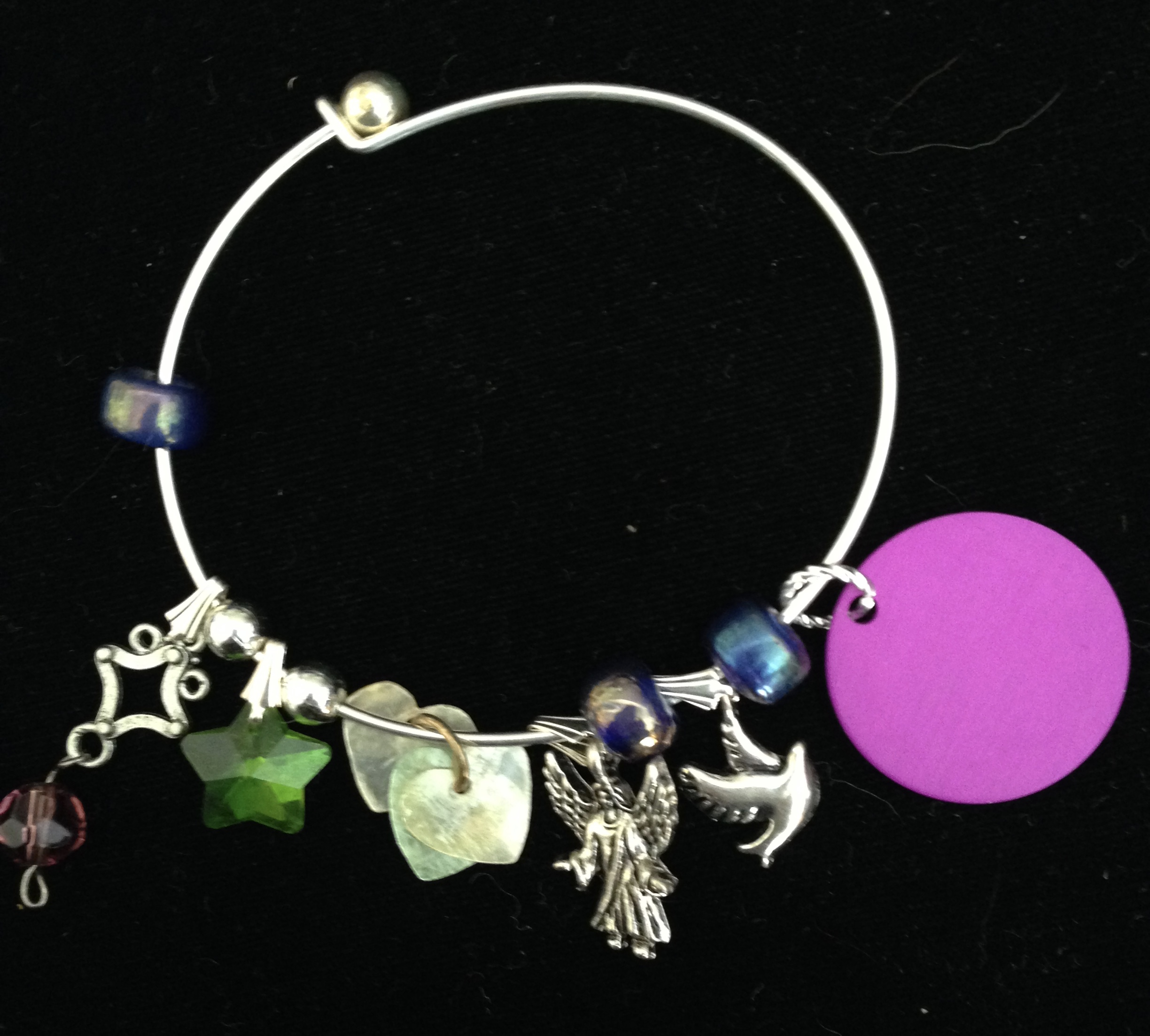 Garden of Angels Charm Bangle