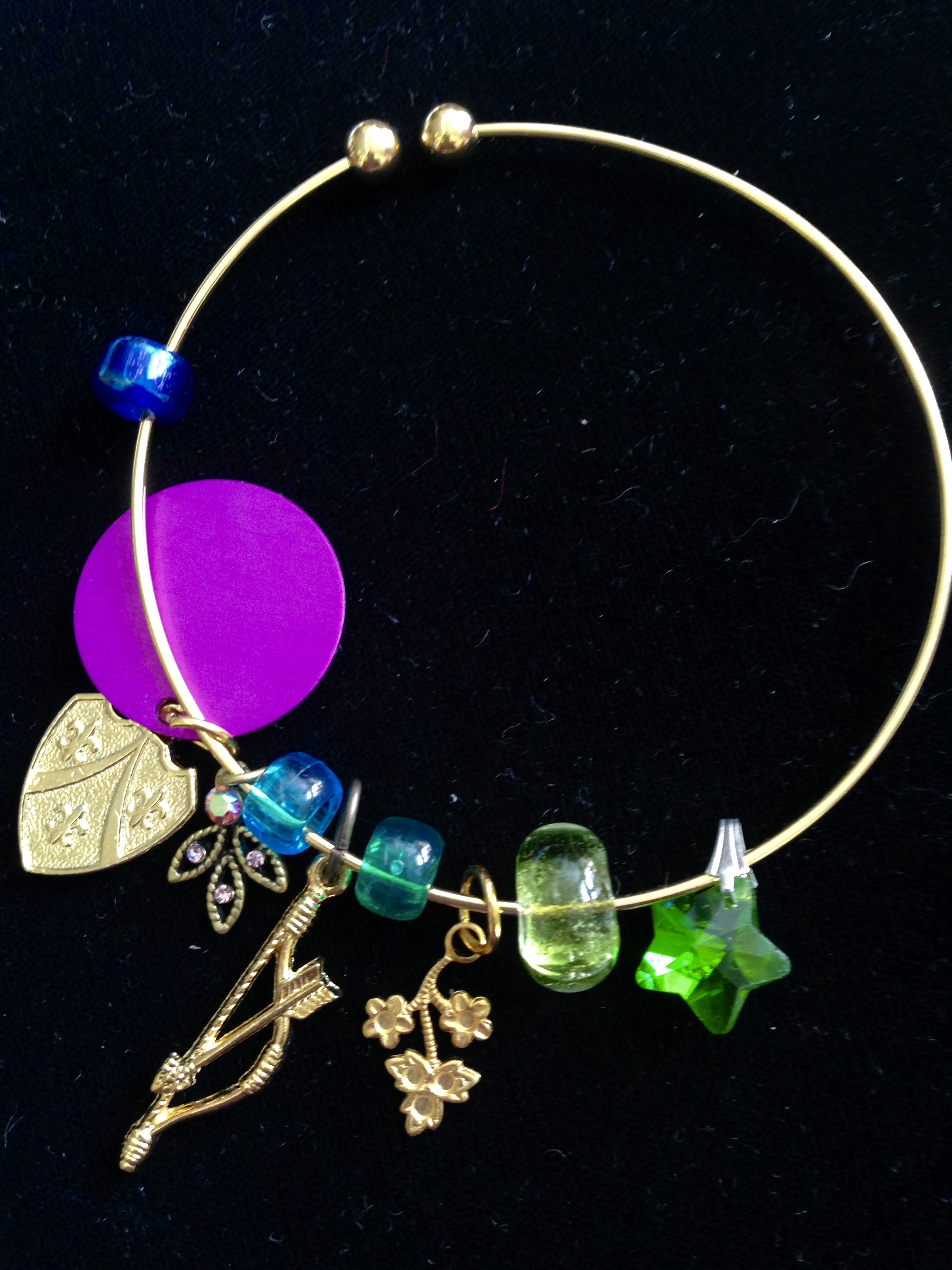 Dream of Love Charm Bangle
