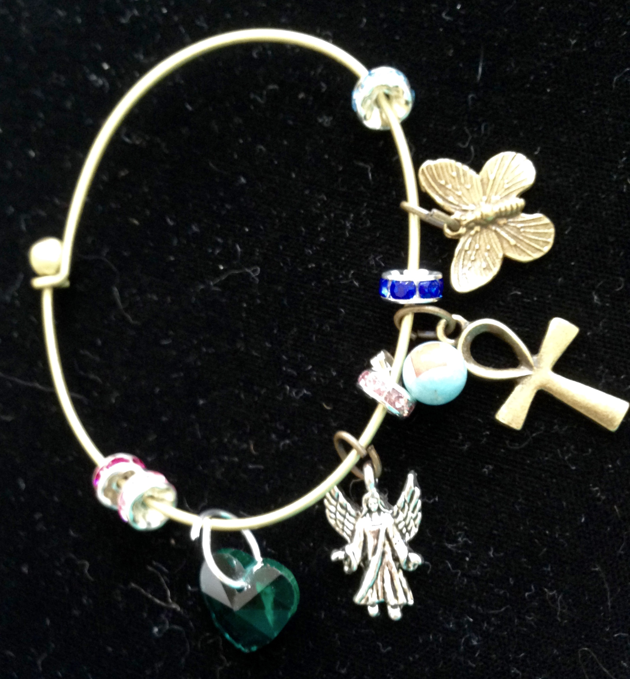 Lucky Butterflies Bangle