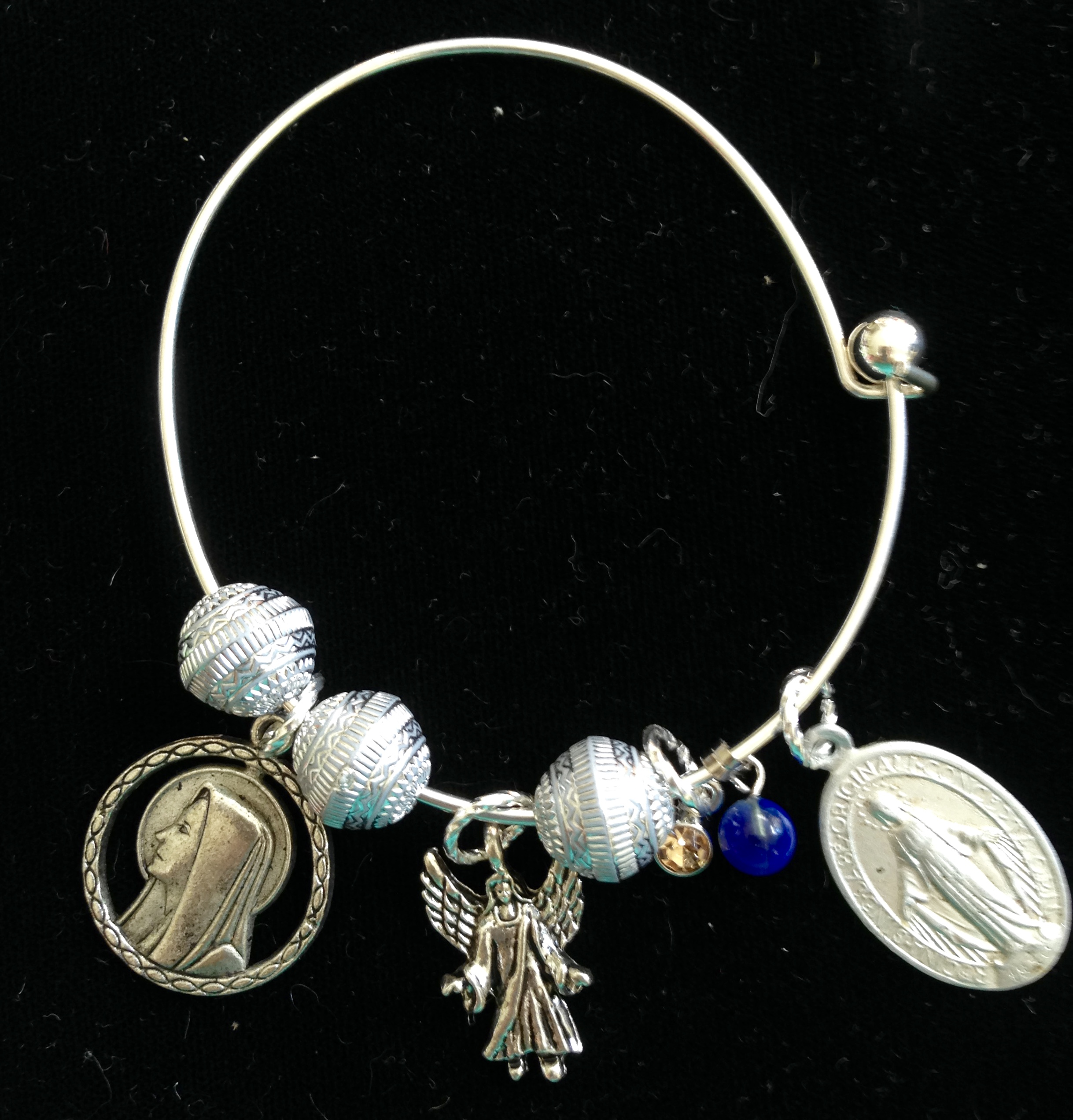 Mother Mary Comes To Me Bangle