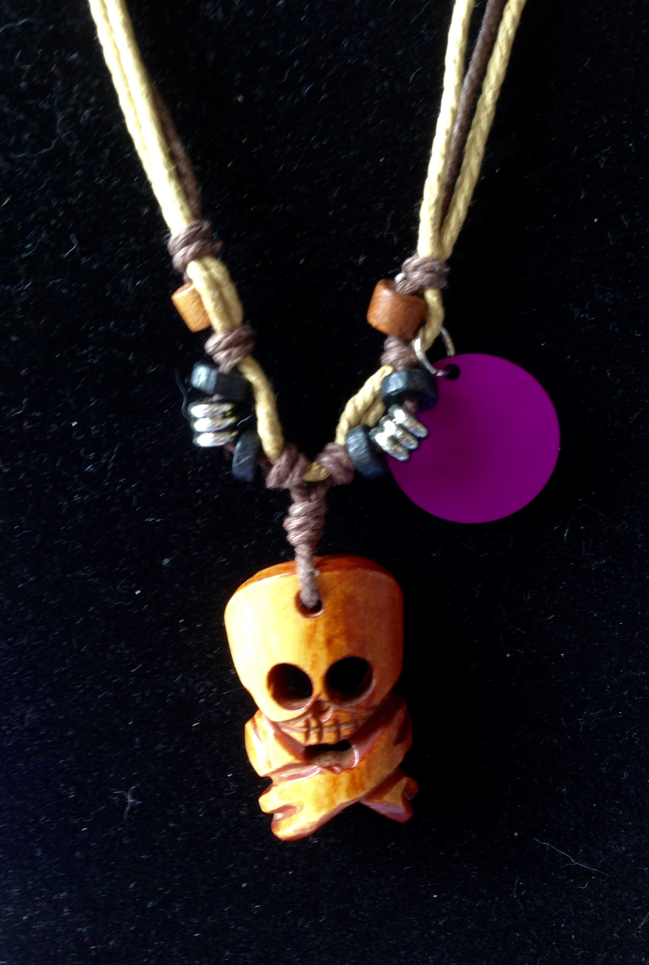 Yo Ho Ho Skull & Crossbones Necklace