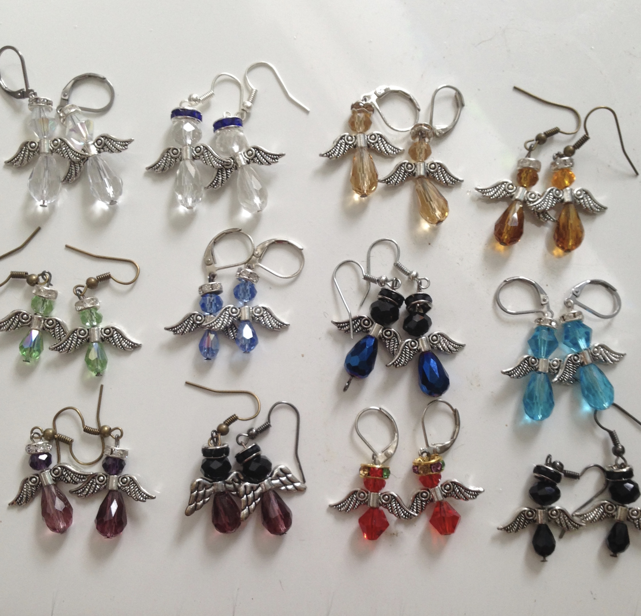 Angel Earrings - Choice of colors