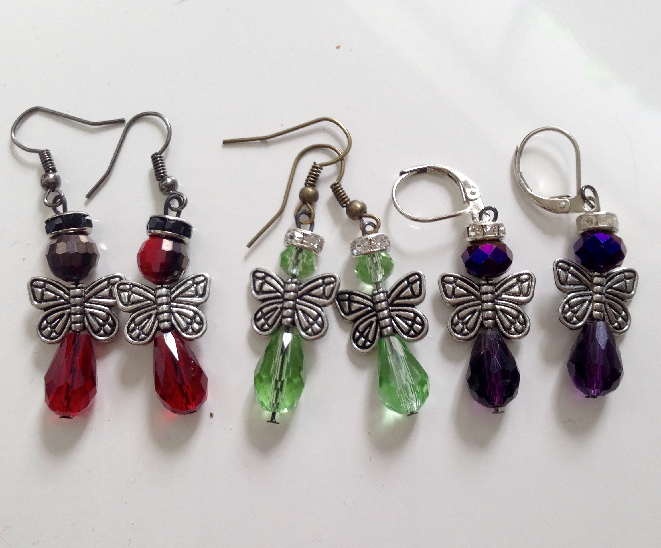 Angel Butterfly Wing Earrings