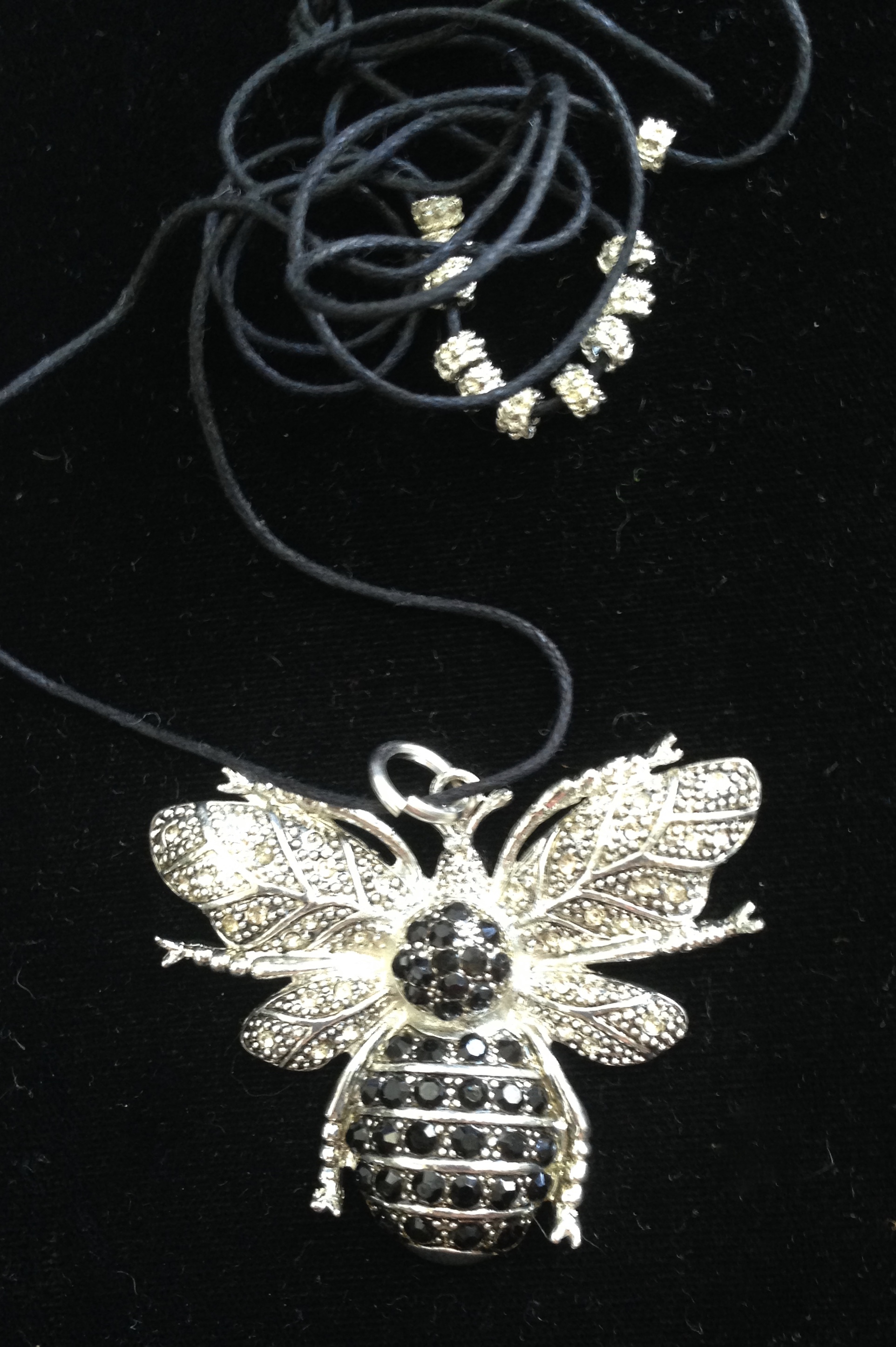SALE: Beautiful Large Bee Pendant