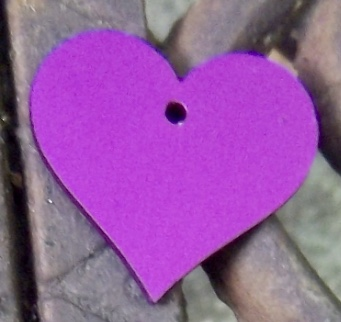NEW! PURPLE HEARTS (Limited supply--HURRY!)