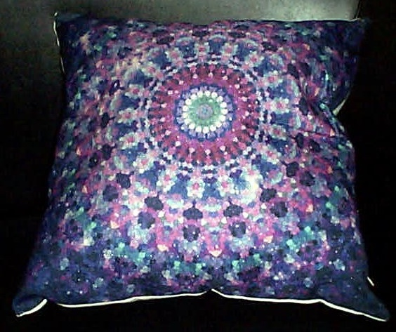 NEW! Positive Energy Pillow-Mandala