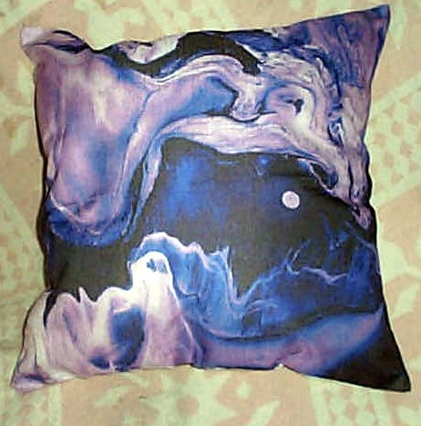 NEW! Positive Energy Pillow-Moon Swirl
