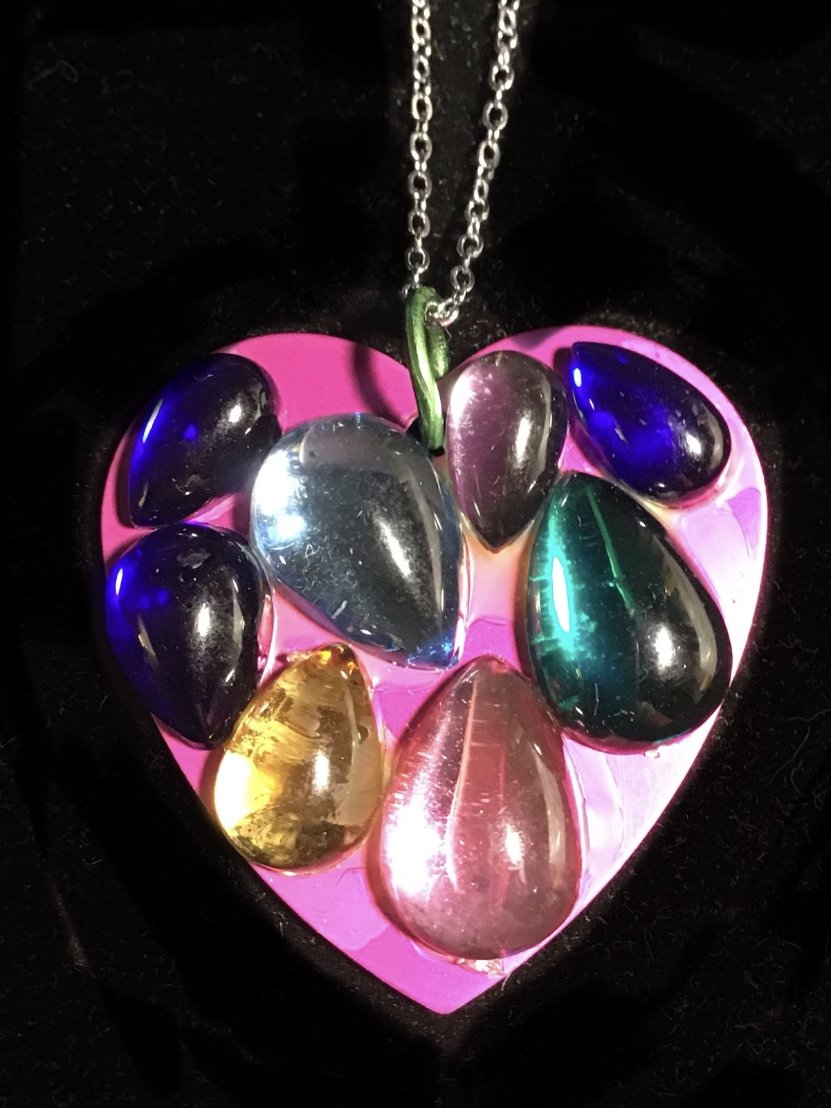 Full Heart Purple Energy Disk