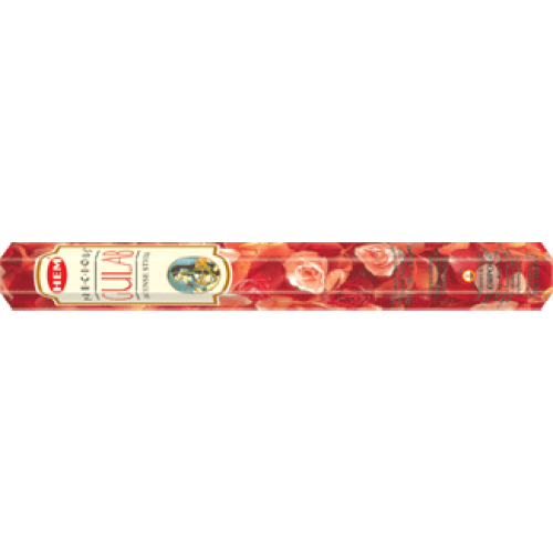 HEM Precious Gulab ROSE Incense Sticks (20)