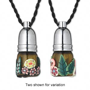 EDEN PERFUME BOTTLE NECKLACE