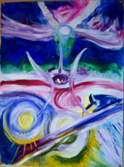 AURA ENERGY PAINTING By Psychic Medium Renee Richards