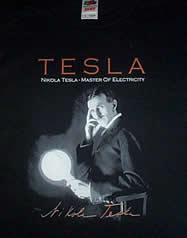 50% OFF TESLA T-SHIRT